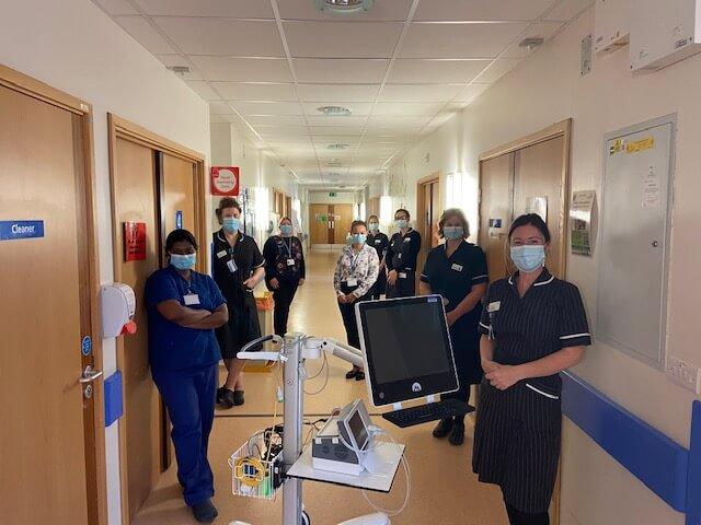 Nurses at Hinchingbrooke Hospital