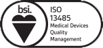 ISO 13485 medical device quality assurance certification logo