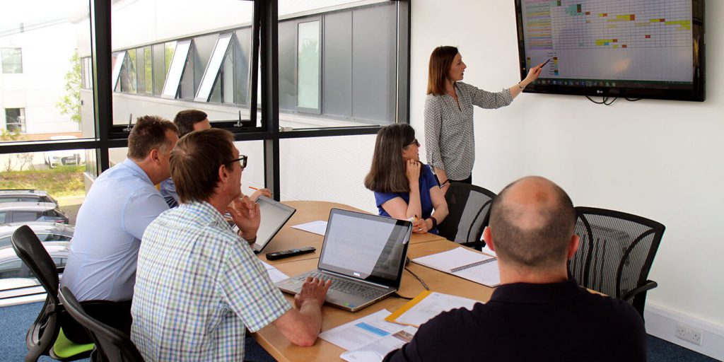 K2 team project managing a new implementation
